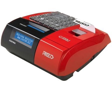 Gestione punto cassa, misuratori fiscali, registratore di cassa, Giannone Computers, Custom, Custom Red/White/Black