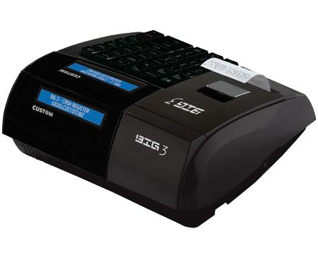Gestione punto cassa, misuratori fiscali, registratore di cassa, Giannone Computers, Custom, Custom Big 3, Registratore Telematico