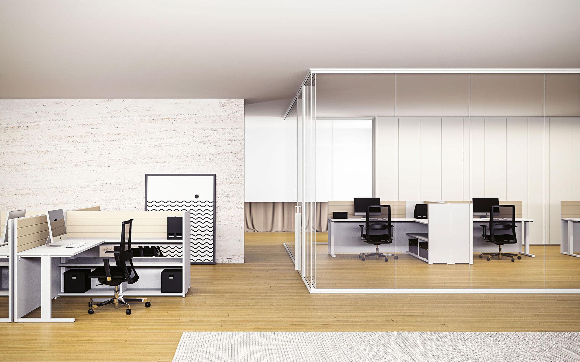 Giannone Computers, Mobili per ufficio, Las, Modulo Pareti divisorie