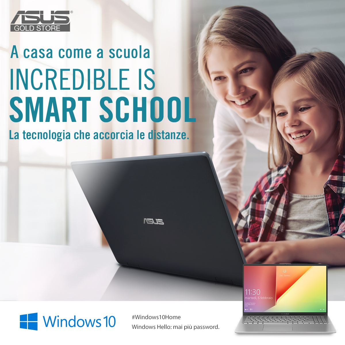 Asus, smart school, scuola digitale