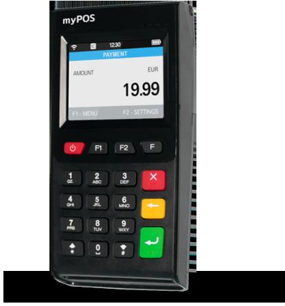 myPOS Go, pagamenti Pos, pos
