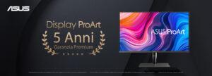 Display ProArt, Estensione della garanzia